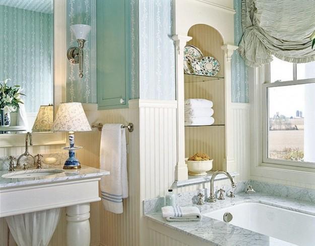Design Bagno Classico : Bagno classico con rivestimento bicolore u i like it